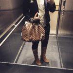 Fridays look ootd blonde businesschic businesslook meeting redlips look fashionhellip
