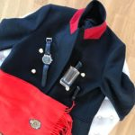 Red and blackelegance redandblack lovely instadaily details designer look fashionhellip