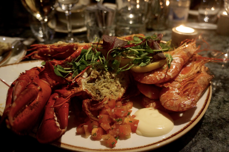 middag fnask fantasi i Malmö