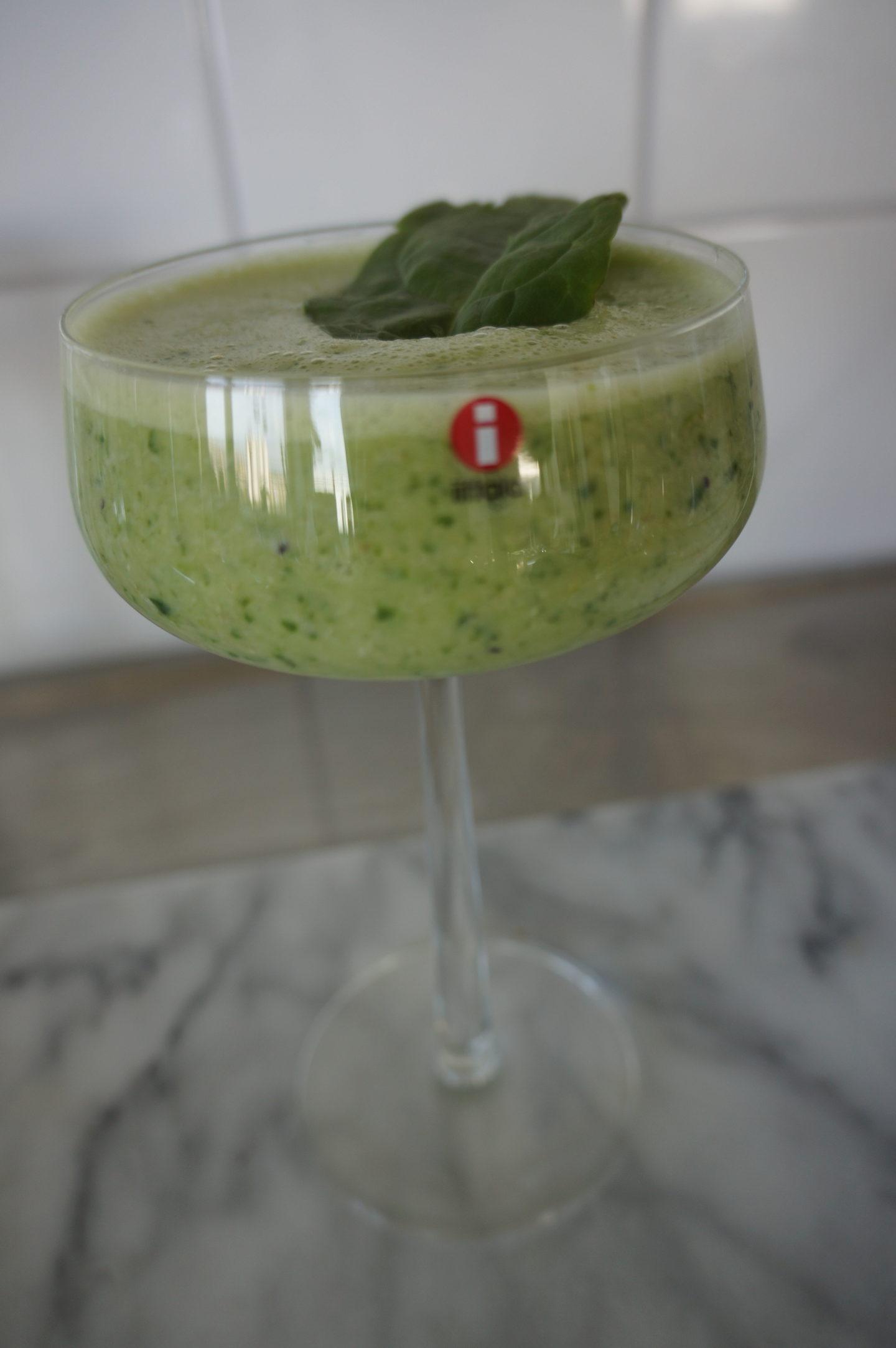 boosta energin med en grön hälso smoothie