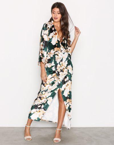 Velvet Kimono klänning