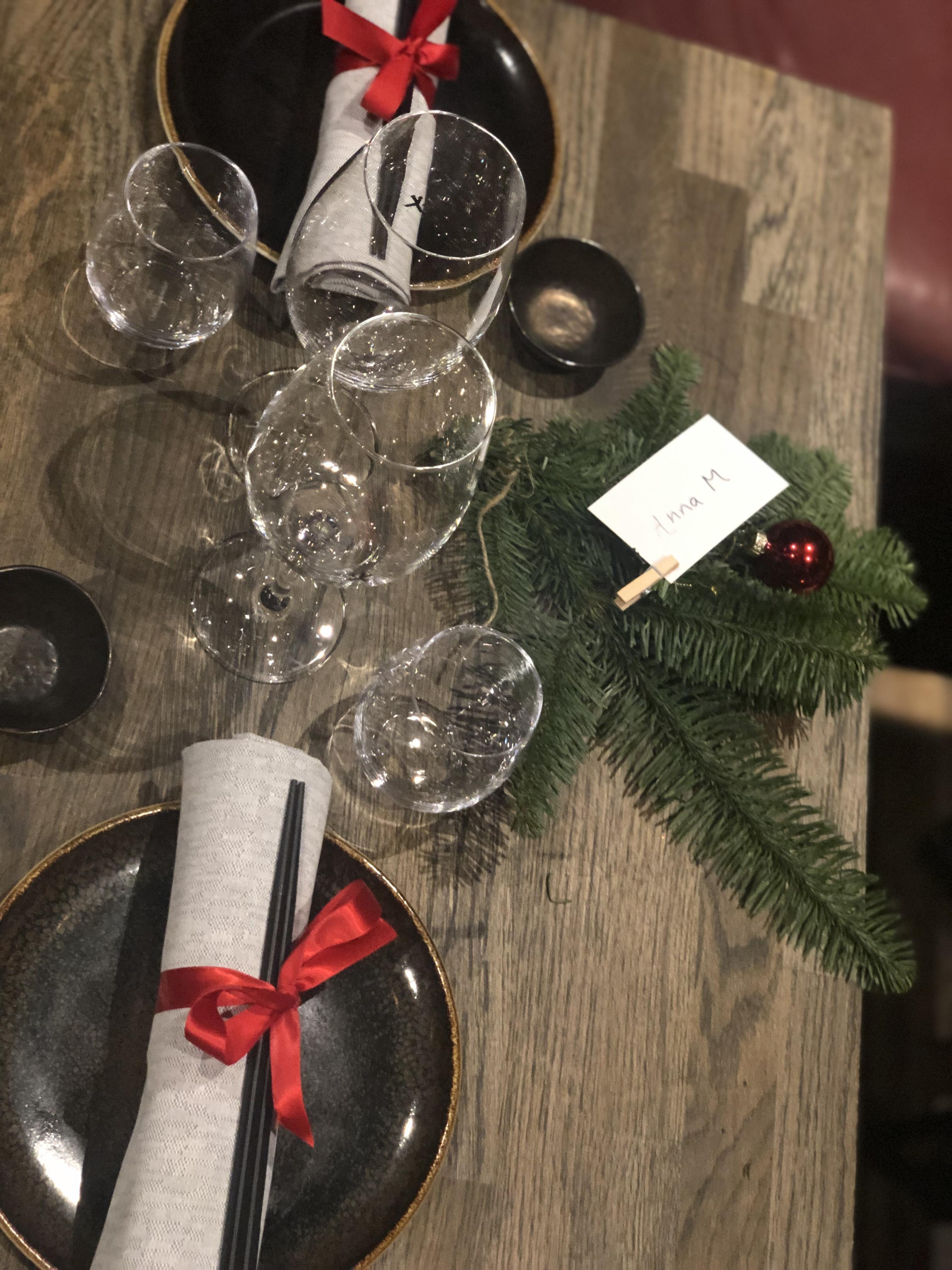 Japanskt julbord på Kasai i Malmö