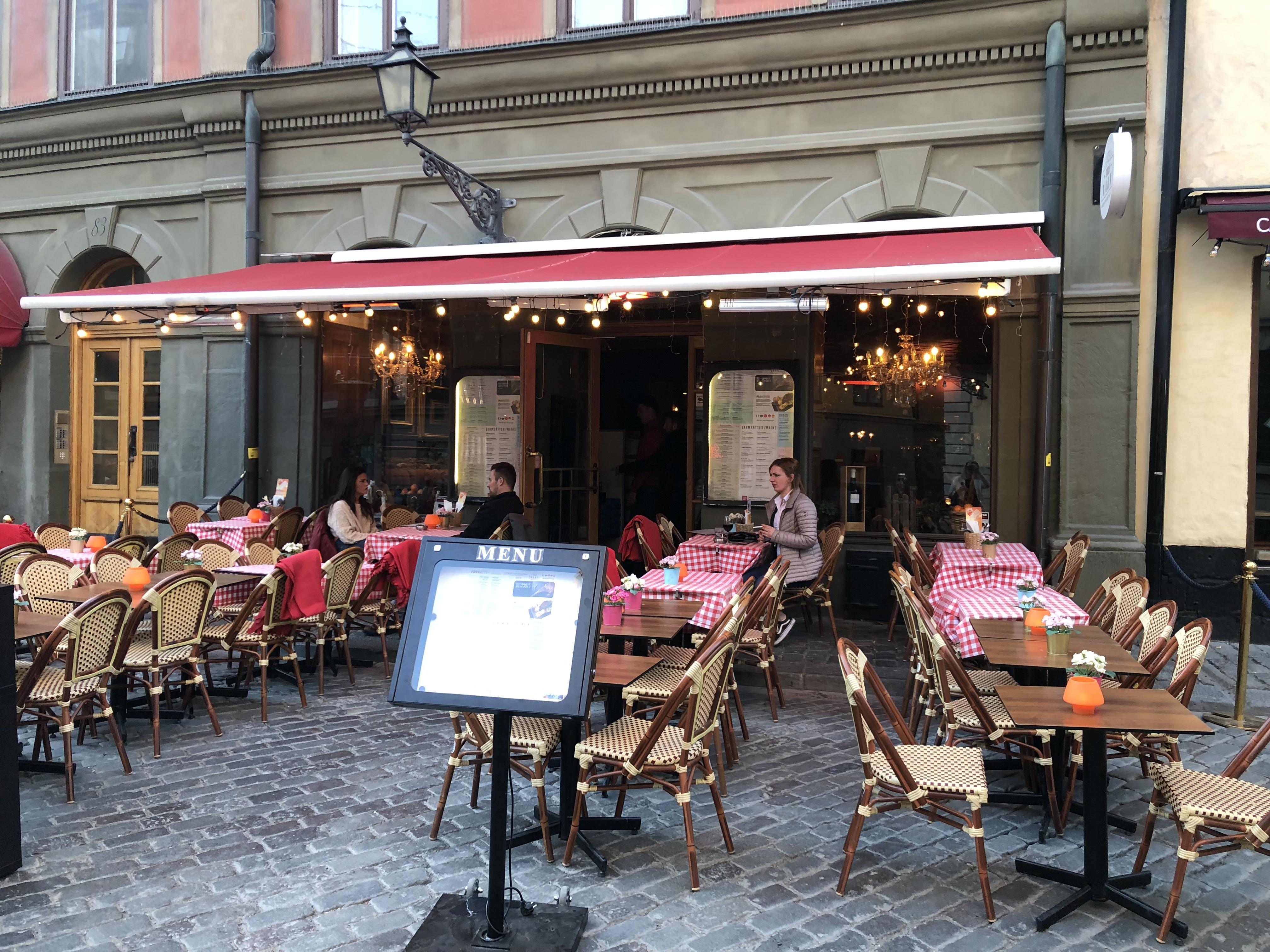 Stockholm över dagen.