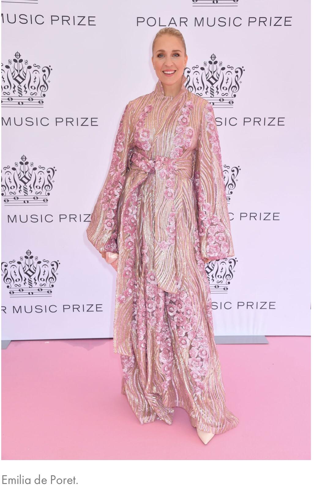 Rosa mattan - bäst klädda
