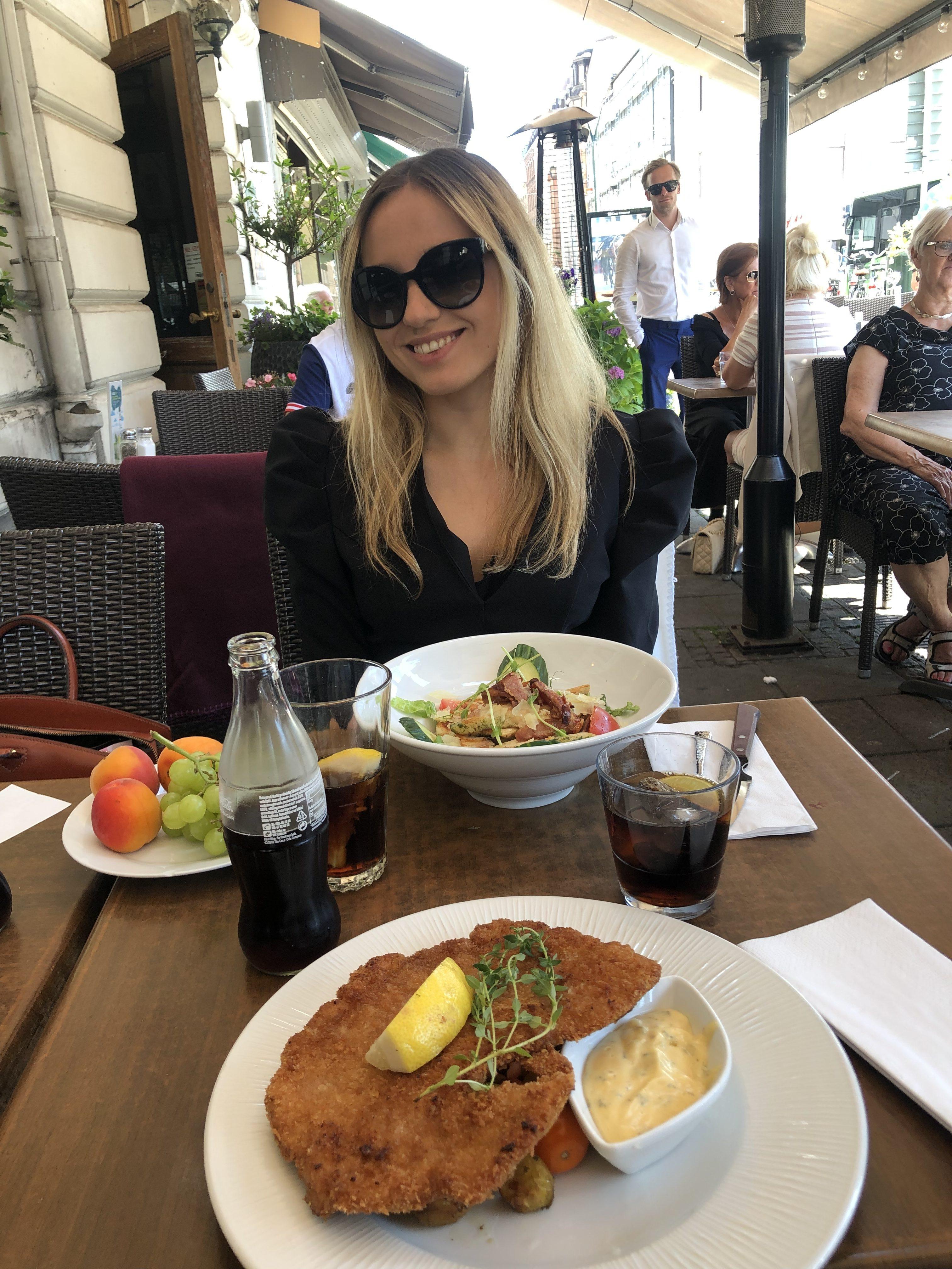 Lunchdejt, måndagsblommor & helt underbart