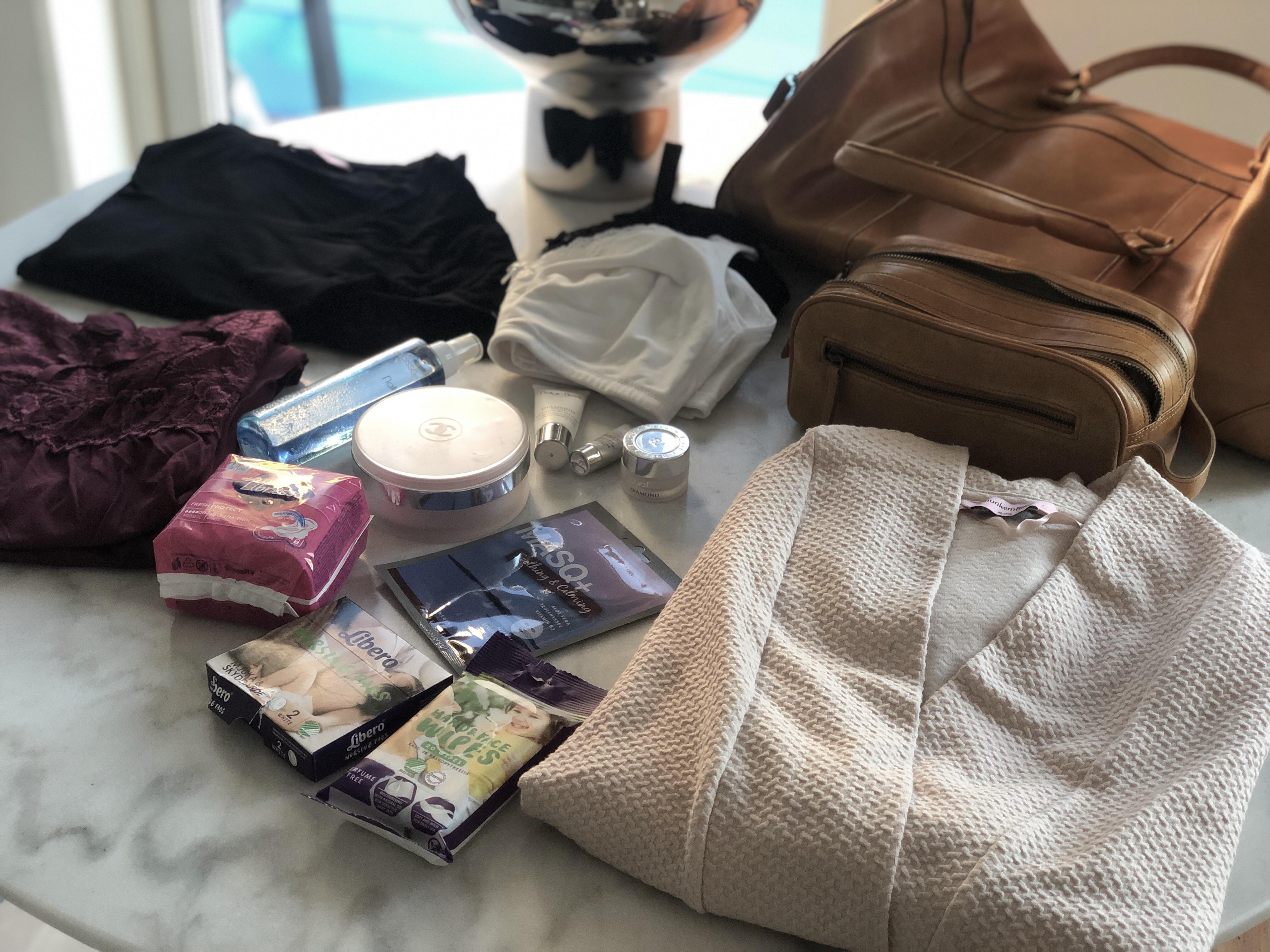 Packning av BB väskan del 1