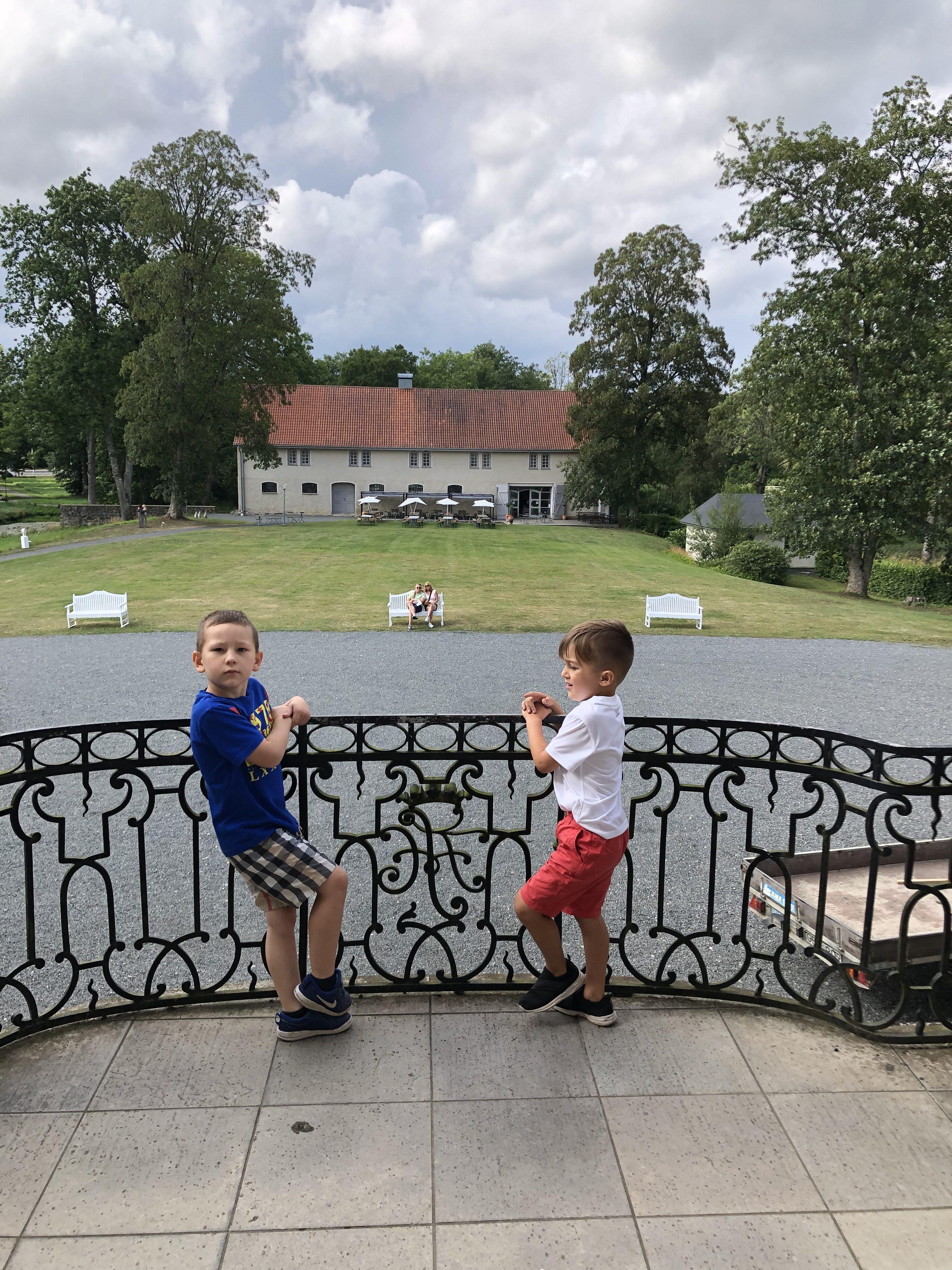 Slottsutflykt i Skåne
