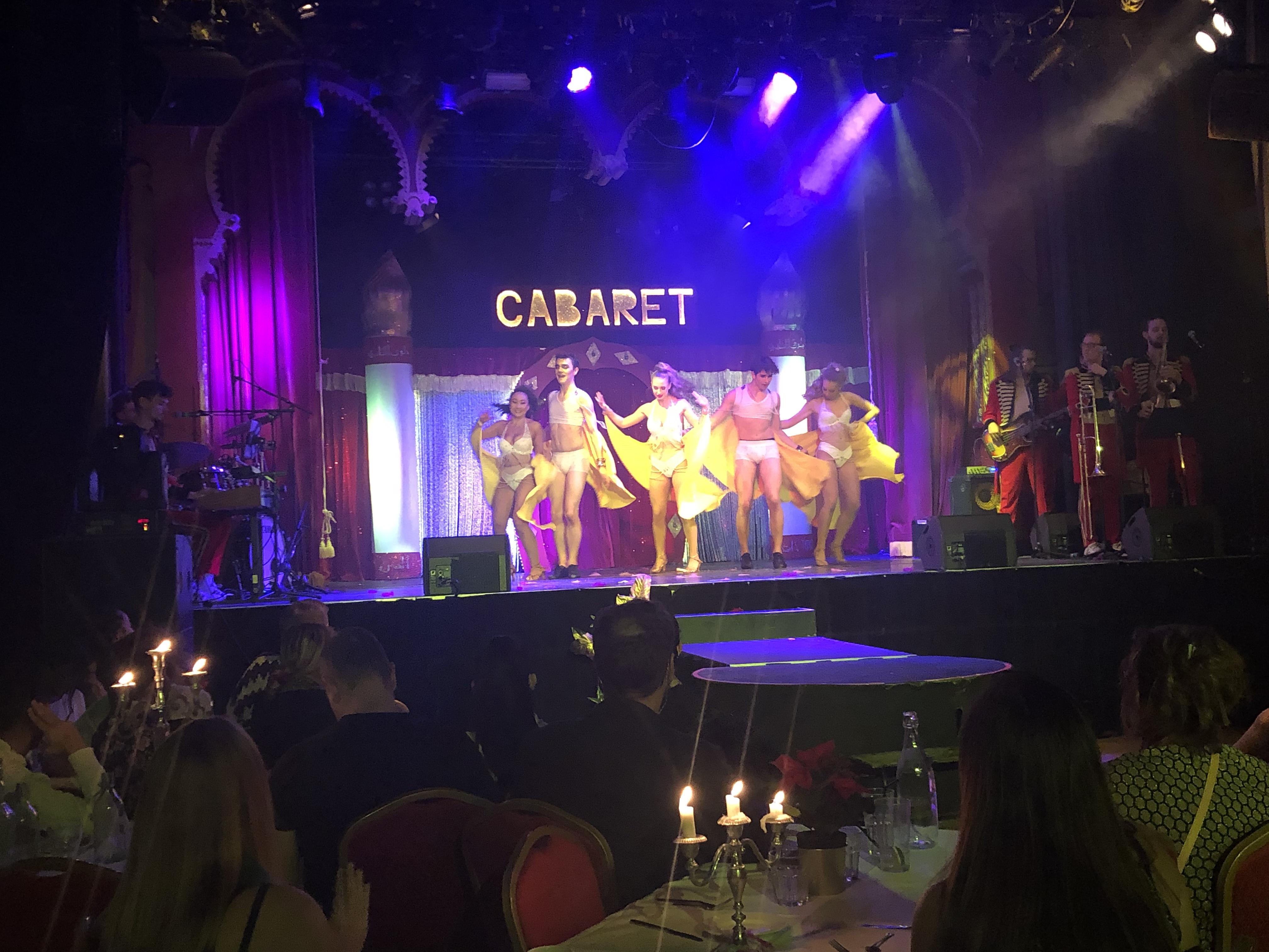Cabaret Candy Club på Moriskan i Malmö
