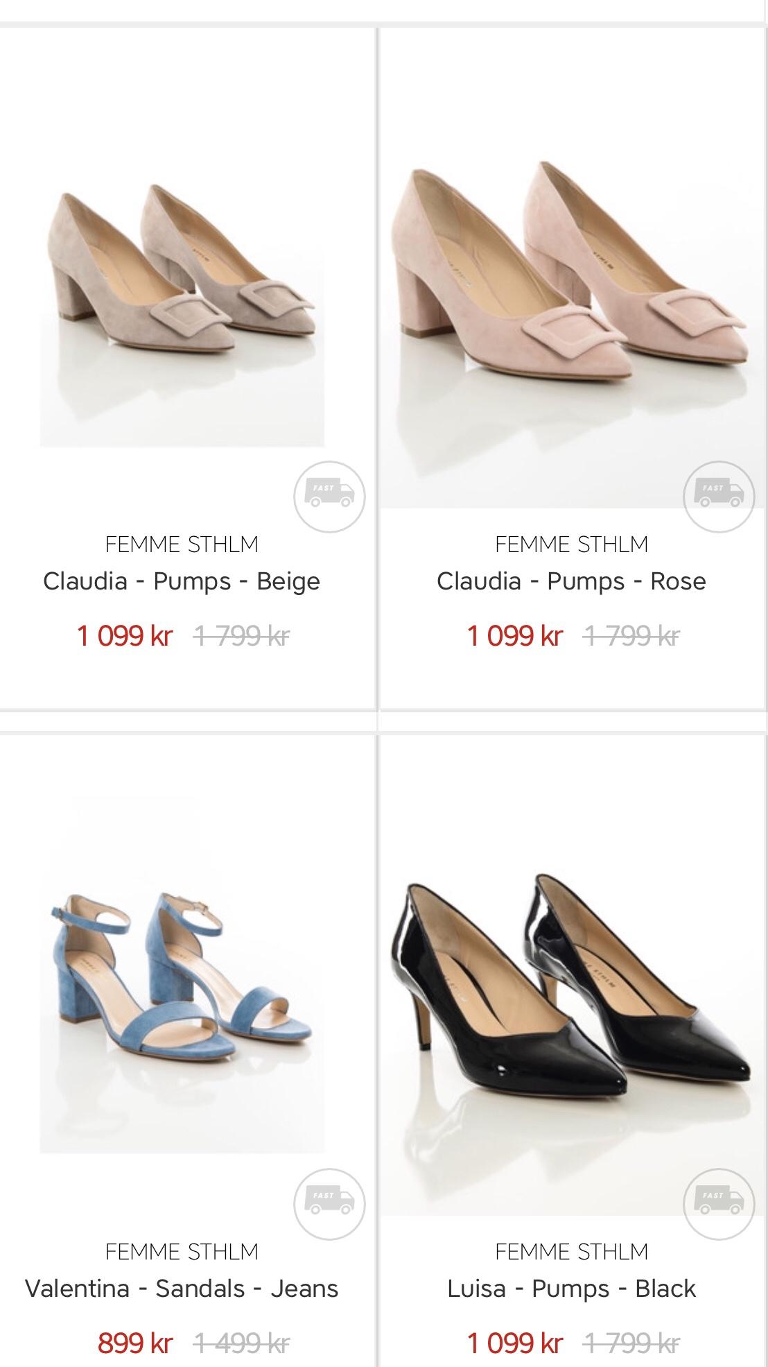 Bekväma & snygga skor på REAN Anna Matkovich bloggare i