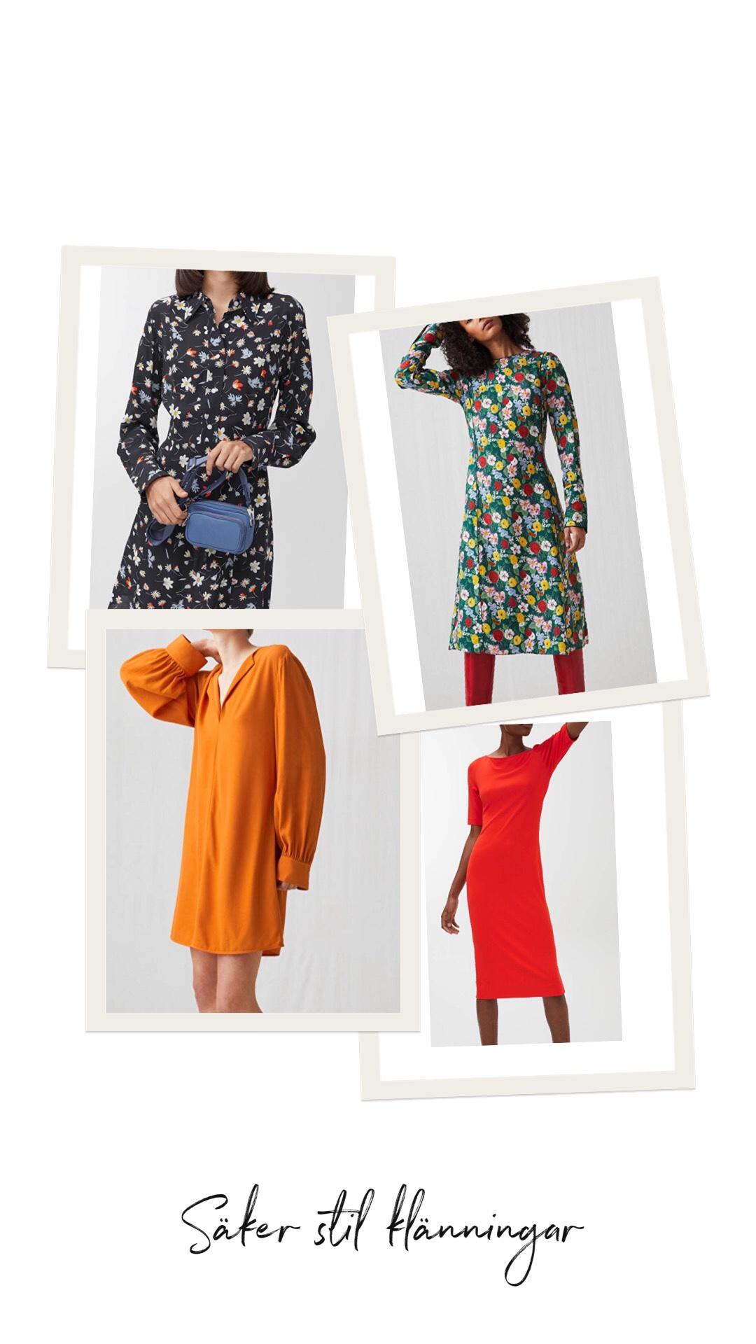 Stilsäkra klänningar