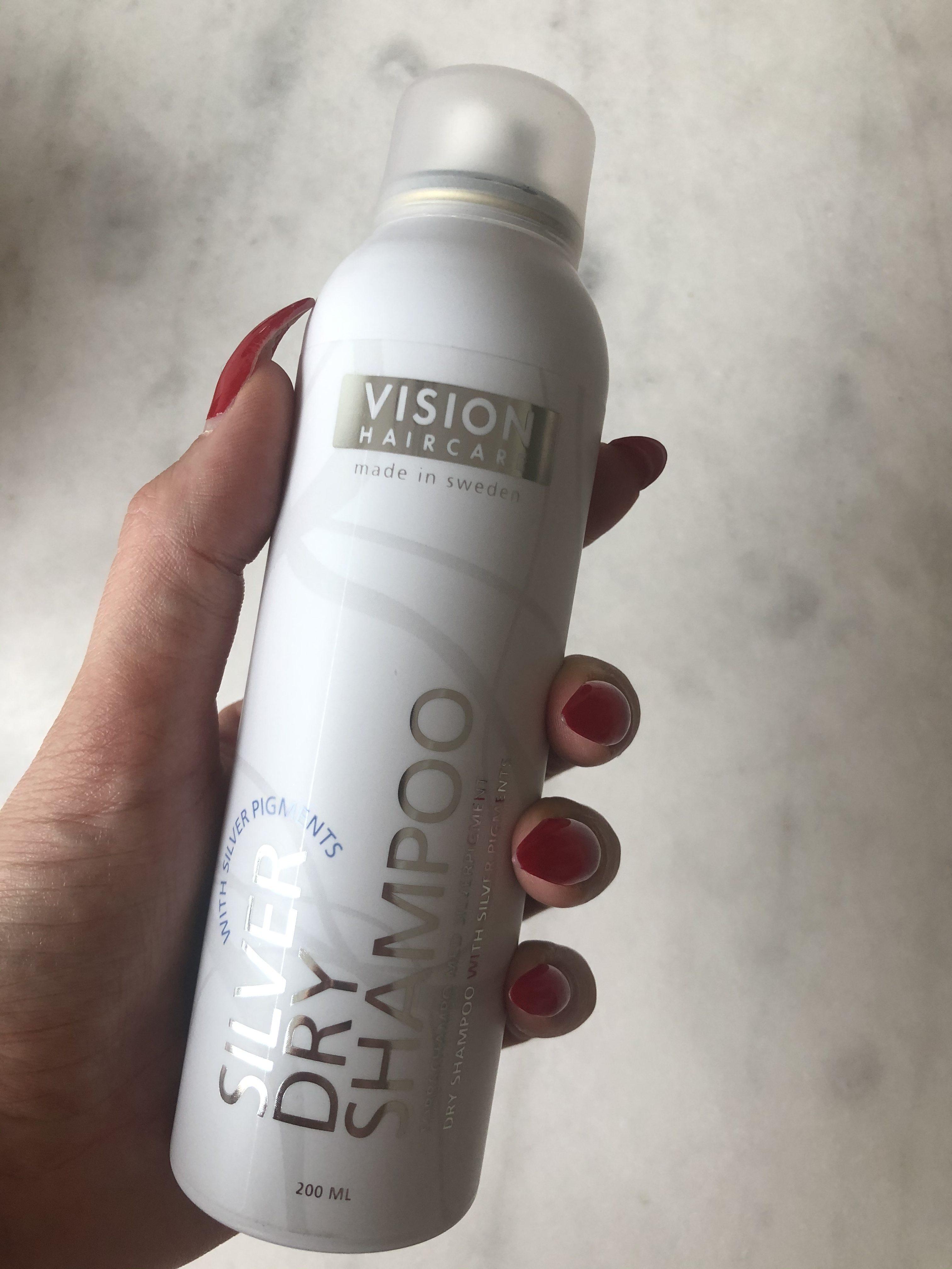 VISION Haircare - silver torrschampo