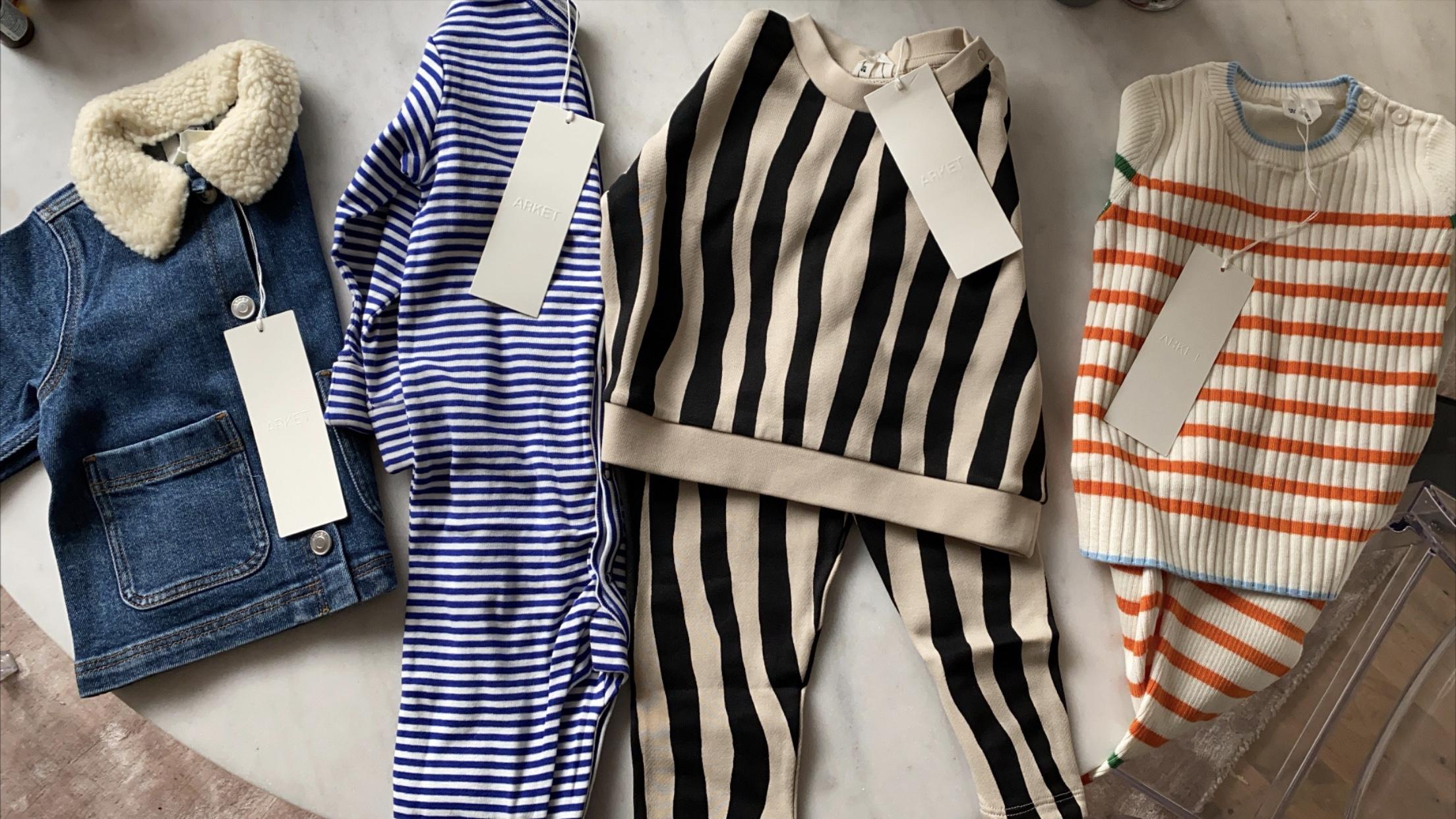 Babykläder från Arket 