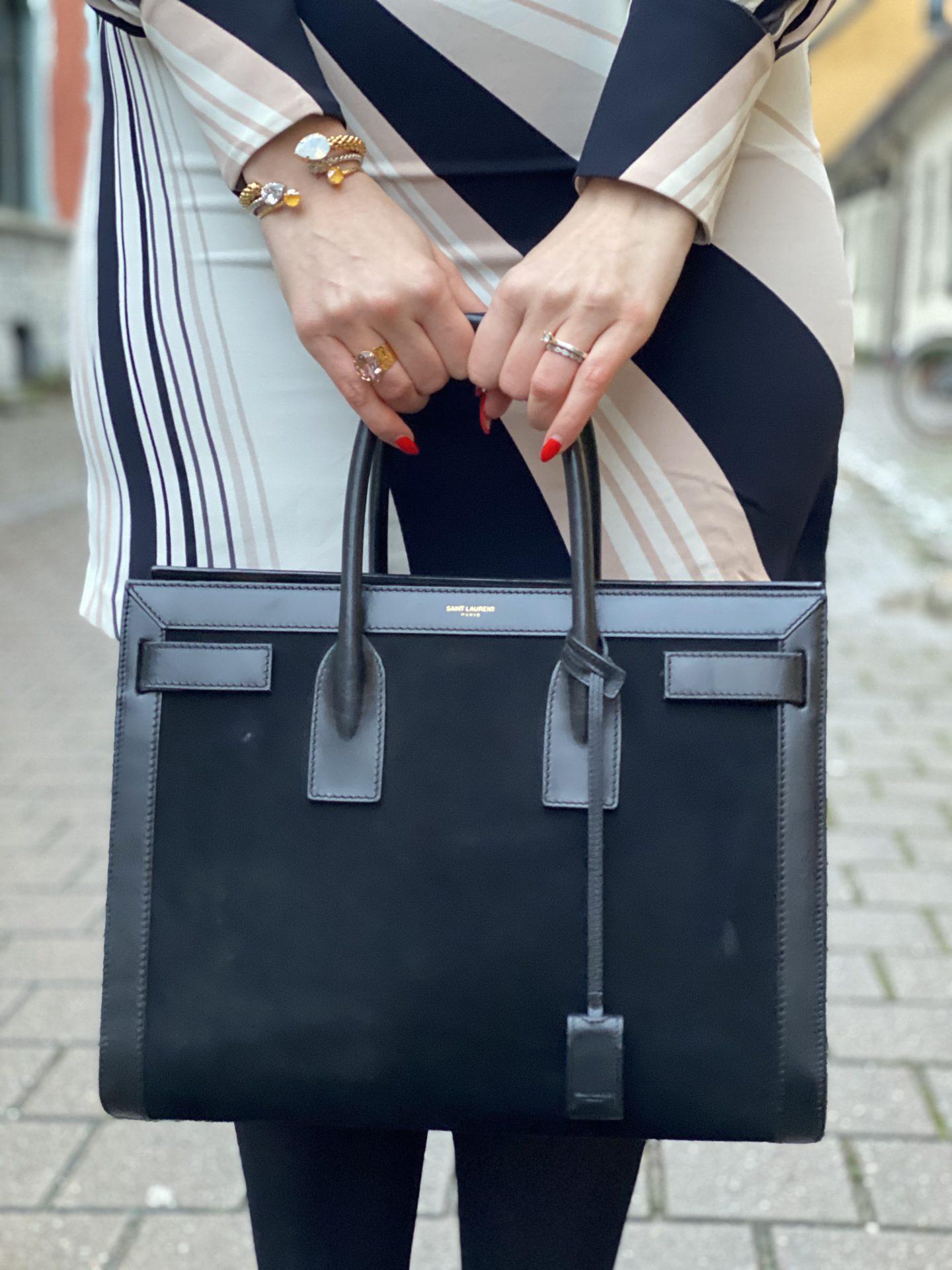 Klassiker - YSL Sac De Jour Väska