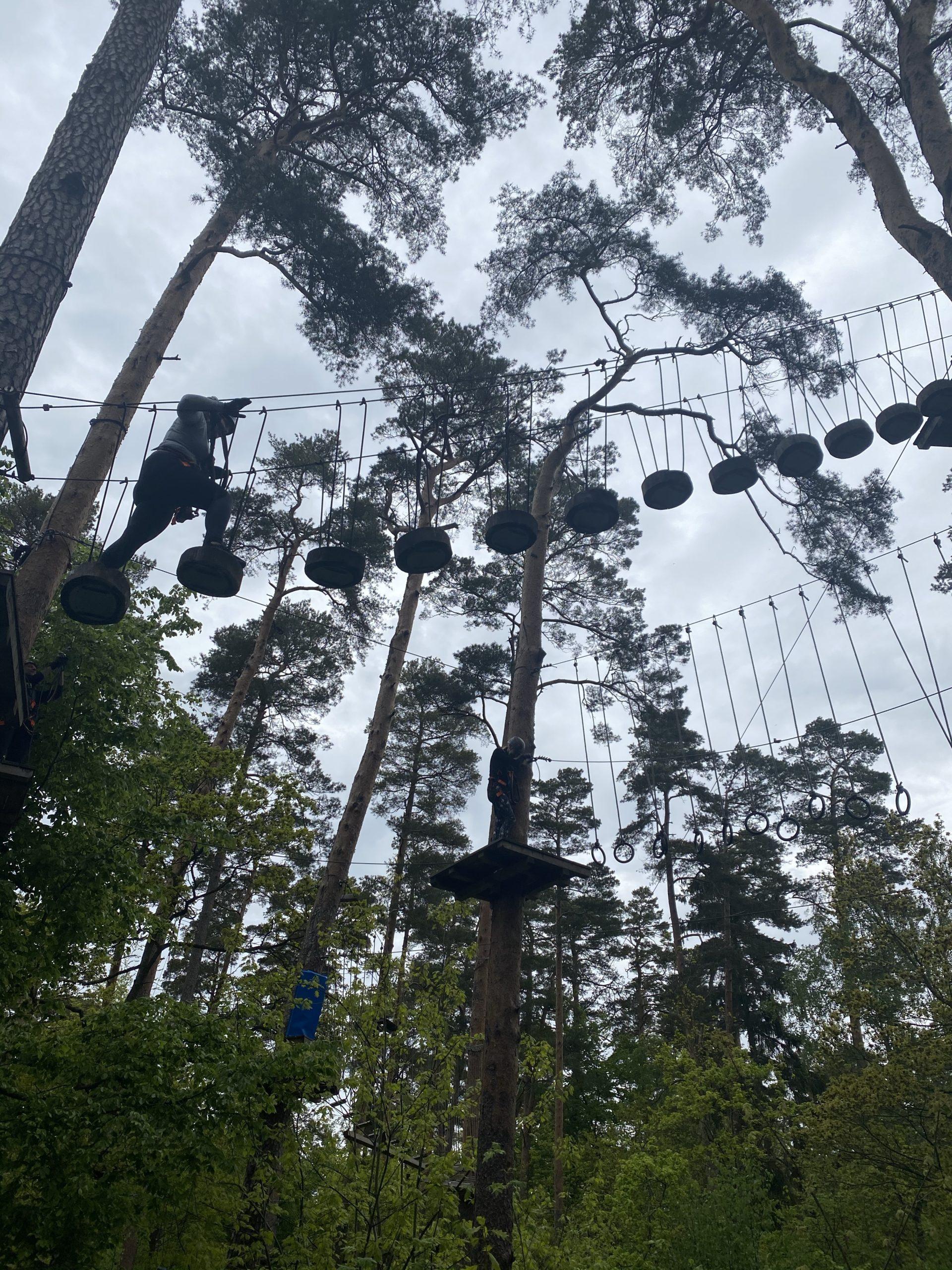 Upzone äventyrspark i Ängelholm 