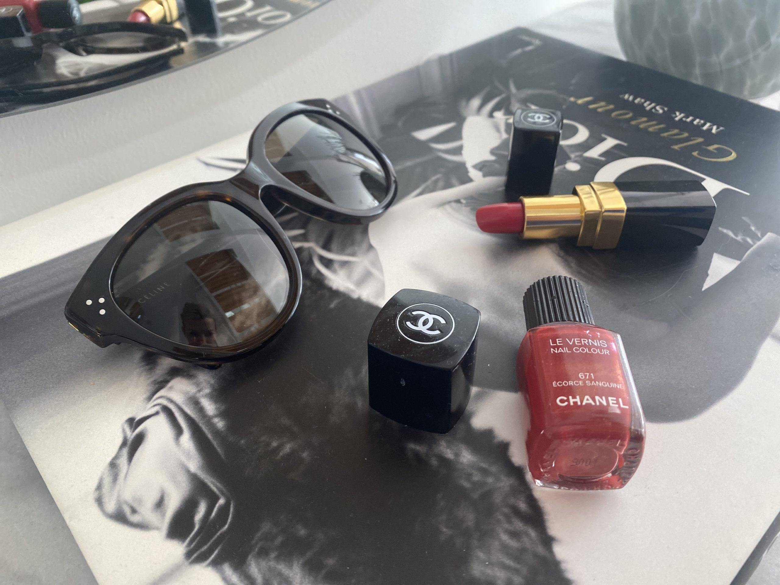 Céline Audrey solglasögon Dark Havana