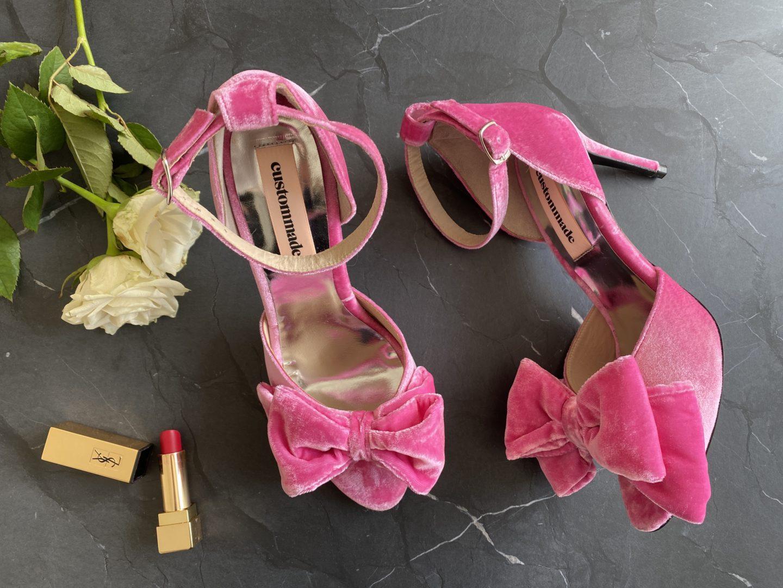Custommade Maria Velvet högklackade skor 