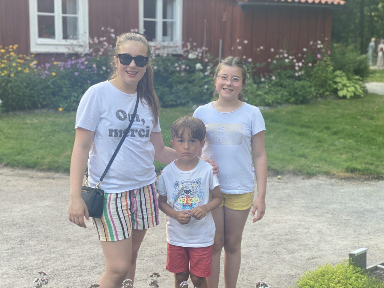 Apladalen natur- & hembygdsparken med kusiner