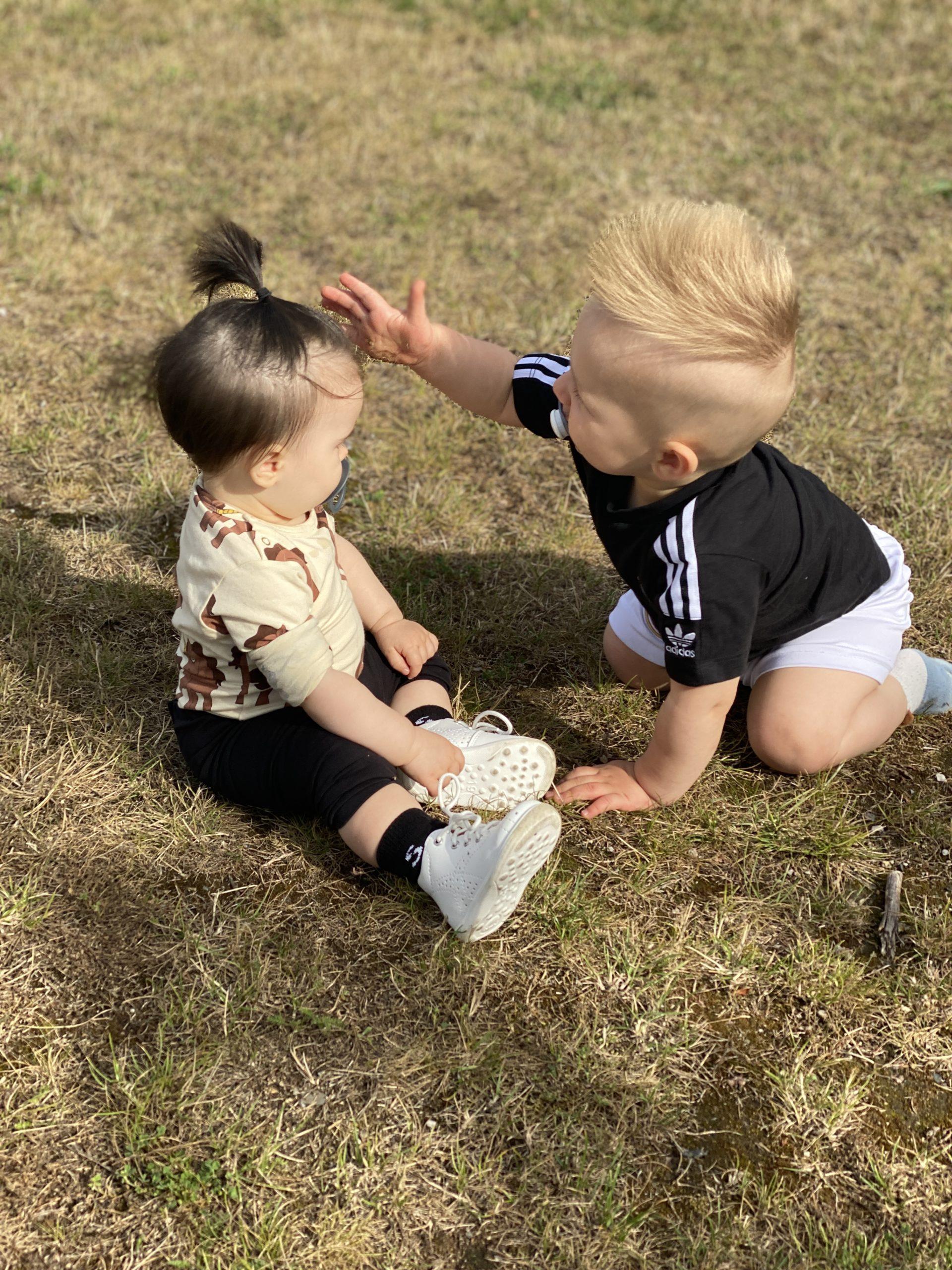 Helgmys med kusiner
