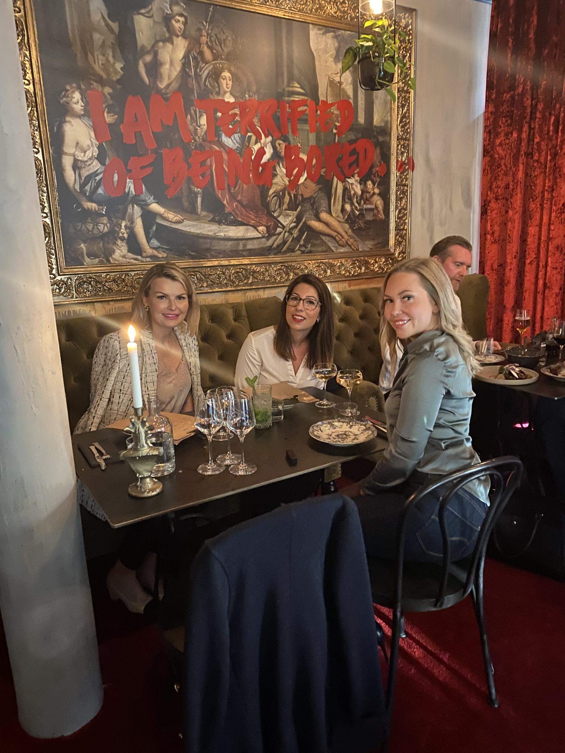 Middag med tjejerna & söndagsmys 