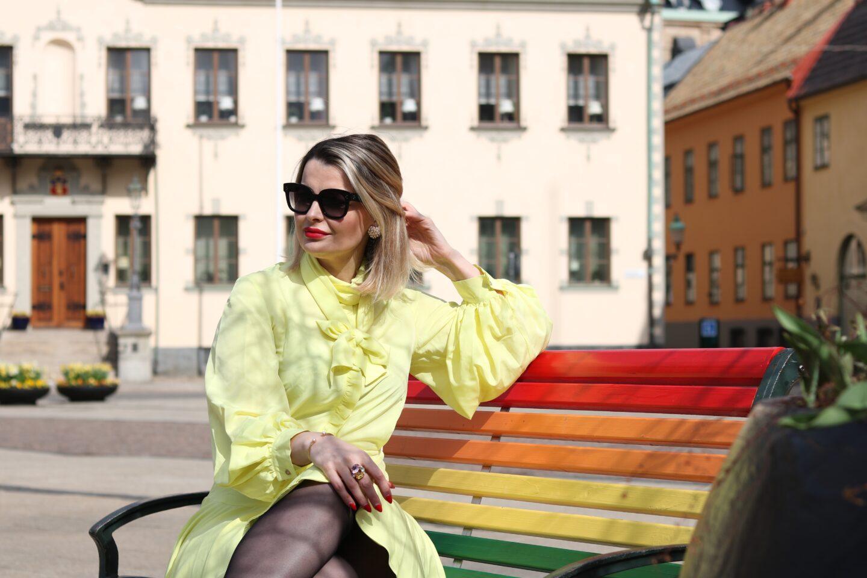 Lars Wallin Lemon klänning 
